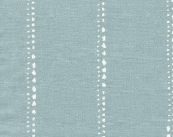 Scallop Valance Carlo Spa Blue Stripe