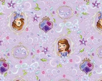 Disney's Sofia the First Frames Fabric From Springs Creative