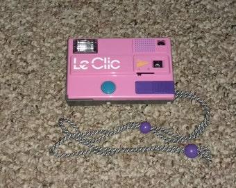 Le Clic Vintage 80's Camera with original case