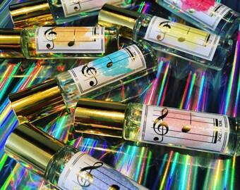 Music Perfume Gift Set - C Major Scale