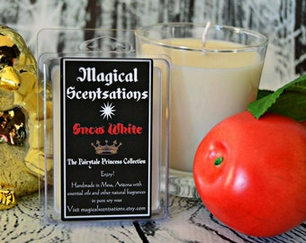 Snow White: Snow White Candle. (The Fairytale Princess Collection). Princess Candle. Disney Candle. Disney Gifts. Gifts for Girls. Apple.