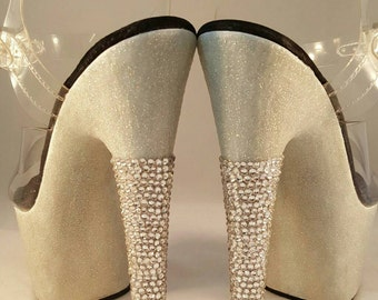 Rhinestone Embellishments for your Heels