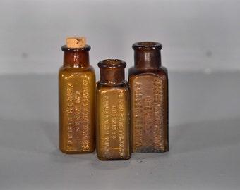 Vintage Keasbey & Mattison Bottle Lot - A00043
