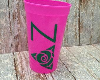 Delta Zeta Sorority Cup; Delta Zeta Cup; DZ Cup; Delta Zeta Stadium Cup; Delta Zeta Tumbler; Delta Zeta Gift; Delta Zeta Accessories