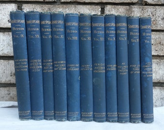 11 volumes 1883 The Complete Works Of William Shakespeare