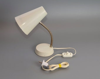 Vintage Dutch gooseneck desk lamp, 1960s