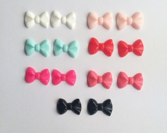 SALE Mini Bow Earrings