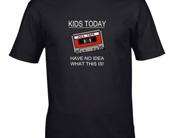 kids today dont know what this is!- Men's T-Shirt  - MTS1057