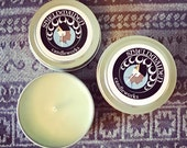 """Ivy cut grass scent soy travel candle  """"Sunrise """" 4oz Soy Viking Candle Travel Tin Shieldmaiden Candleworks"""