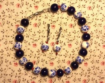 Wishing Bracelet & Earrings