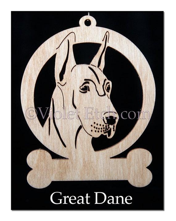 Great Dane Ornament-Great Dane Gift-Free Personalization