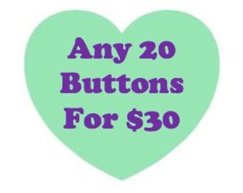 Button deal - Twenty 1.25 inch buttons