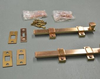 Bronze Door Latch,  Bronze Door Bolts, Door Slide Bolt, Commercial Latch,  #253
