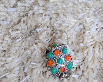Ottoman Amulet Pendant Necklace