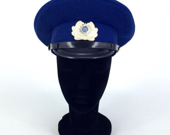 WWII Military Blue Hat