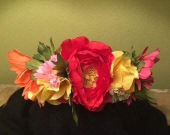 Frida Kalho Inspired Headband #2