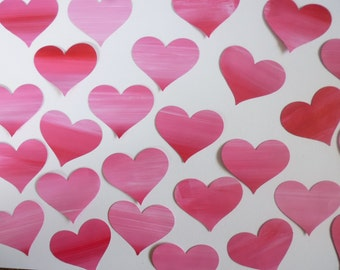 Painted Heart Embellishments