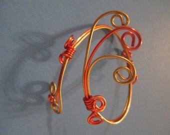 wire metal braclet