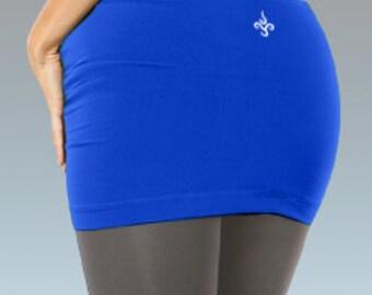 Daya Clothing Yogaskirtz for layering in Azul Sky