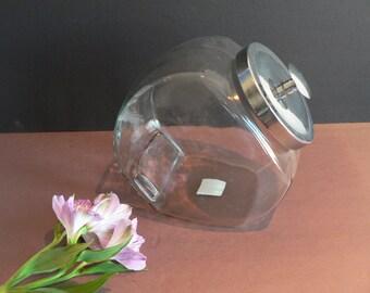 Vintage Glass Candy Jar