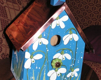 Snowdrops with copper roof