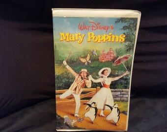 Disney Marry Poppins Vhs