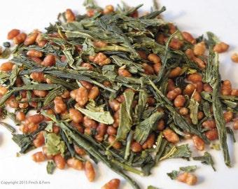 Loose Leaf Green Tea: GENMAICHA | Organic | 2 Sizes