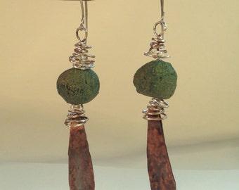 Ash Key Eardrops Earrings