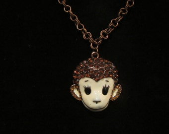 The monkey - the symbol of the year Pendant , Monkey - Pendant, Monkey, symbol of the year