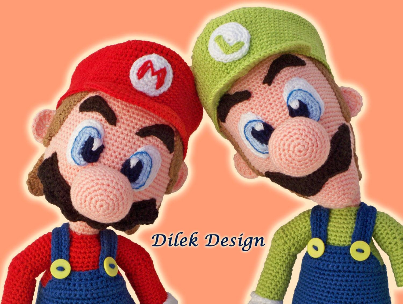 Baby Mario Amigurumi : CROCHET PATTERN - Mario & Luigi - Amigurumi - Pattern ...