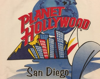 Vintage 1991 Planet Hollywood San Diego Medium shirt