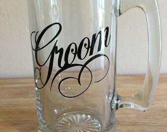 Groom Beer Mug