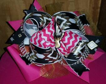 Tribal deer hair bow