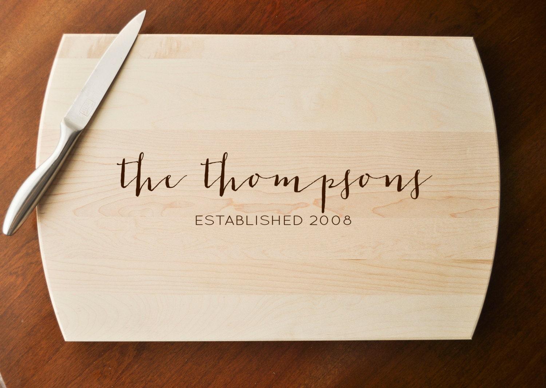 Custom Cutting Board Engraved Cutting Board Personalized
