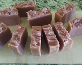 Pink Grapefruit Handmade Vegan soap