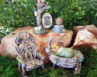 Miniature Welcome Baby Set - 5 pieces