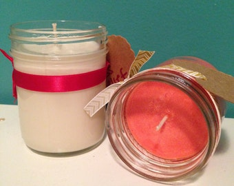 Organic Mason Jar Candles!
