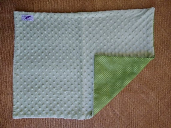 Portable Waterproof Baby Change Mat / diaper changing pad / nappy changing mat - mint/ green