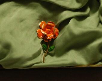 Giovanni California Poppy Pin