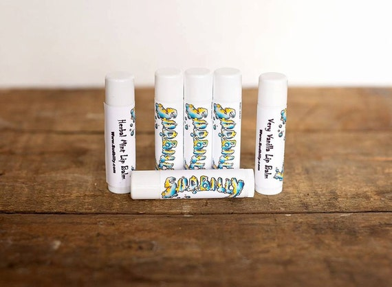 Organic Herbal Mint Lip Balm  #12228