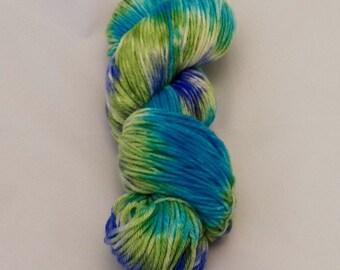 Zigzags- Merino Sport Weight Yarn- Hand Dyed- OOAK
