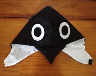 Bird Hood - Black