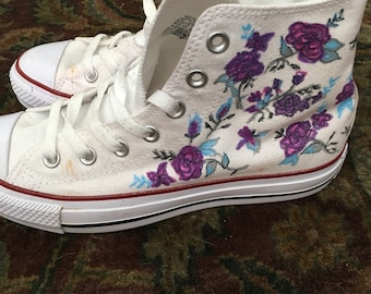 Hand painted converse