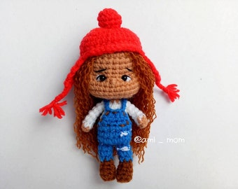 Amigurumi Pattern : Red hat little girl