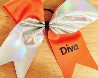 Coral Diva Bow