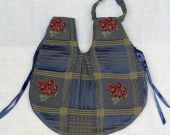 Litle bag with flowers