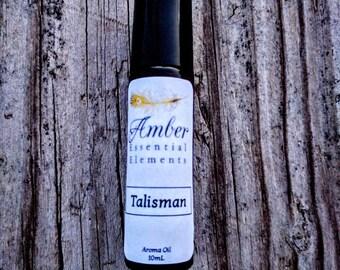 Talisman: bergamot, rosemary, and cedarwood natural cologne blend