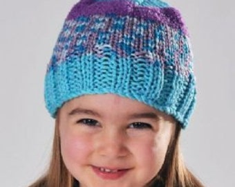 DMC Top This OWL Hat Knitting Kit with a Yarn and Character Pom Pom