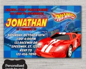 Hot Wheels Birthday invite,Hot Wheels,Hot Wheels invite,JPG file,Invite,Birthday Invite,Hot Wheels party,Hot Wheels Invitation,DPP48