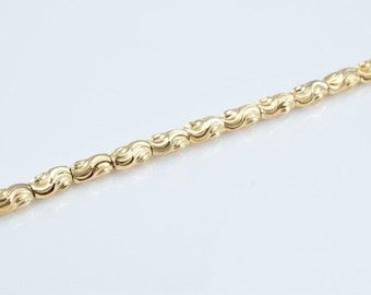 """14K Gold Filled Chain 19.5"""" Inch Cg81"""